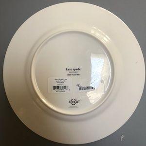 """kate spade Dining - Kate Spade Lenox Christmas Arbor Village 9"""" Plate"""